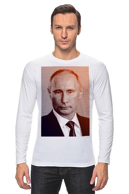 Лонгслив Printio Путин-арт лонгслив printio портрет космонавта