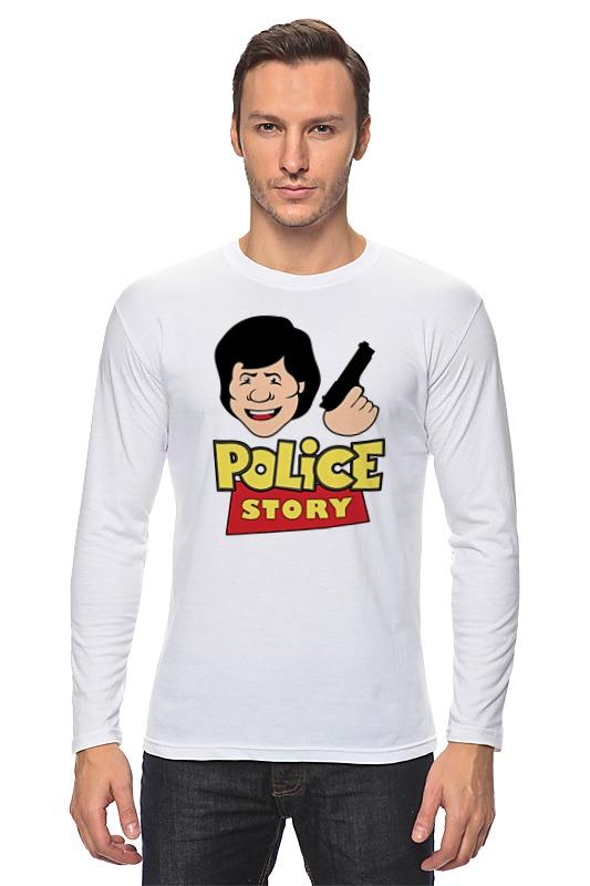 Лонгслив Printio Джеки чан (полицейская история)