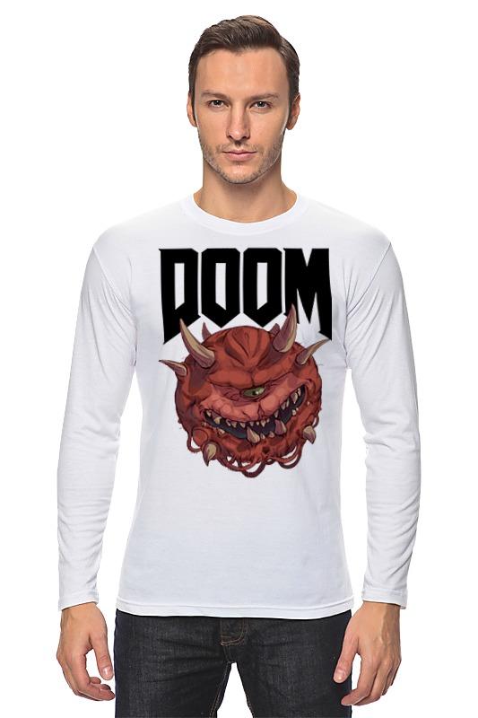 Лонгслив Printio Doom game print bar doom