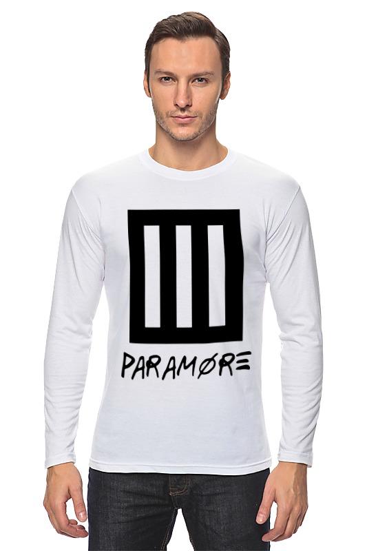 Лонгслив Printio Paramore недорго, оригинальная цена