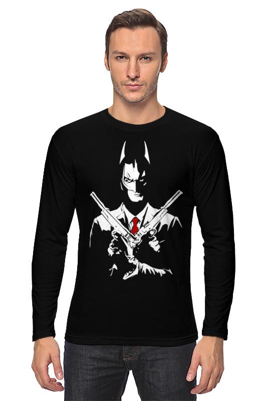 Printio Batman x hitman лонгслив printio batman x iron man