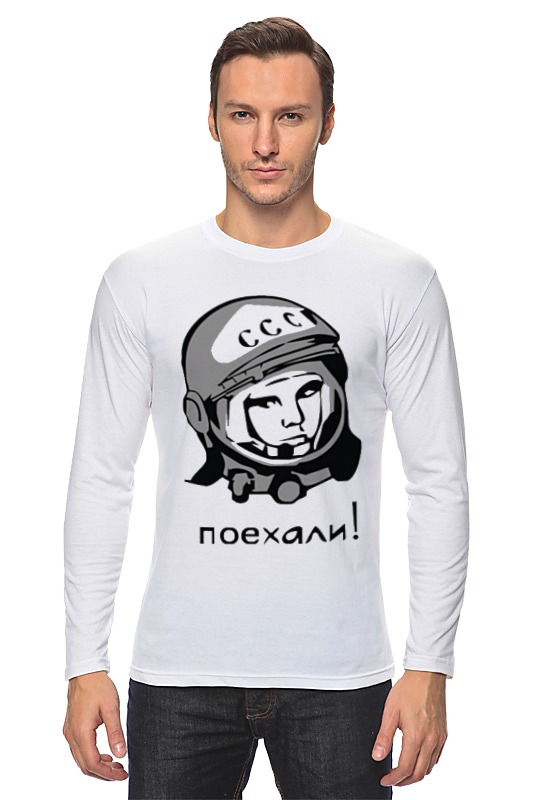 Printio Гагарин: поехали брошь поехали