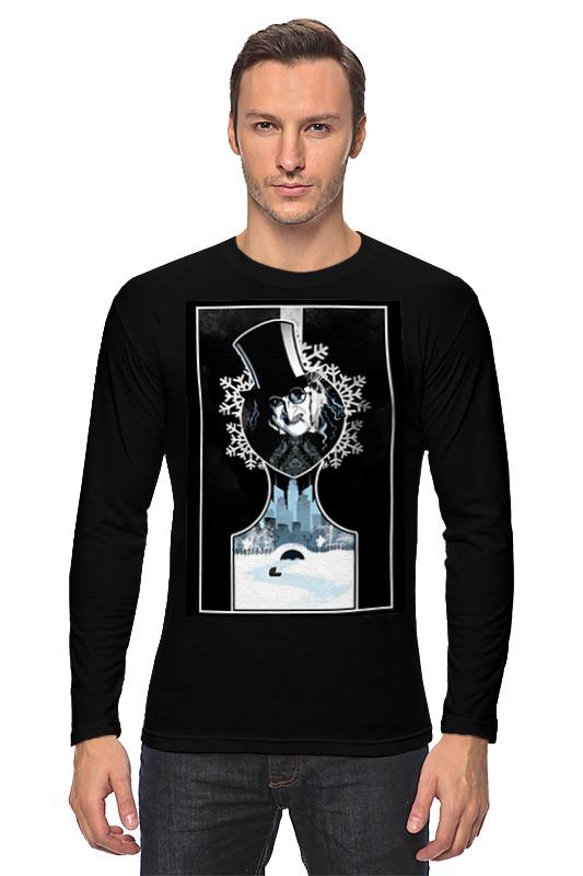 Лонгслив Printio Batman(пингвин) лонгслив printio batman waiting for you
