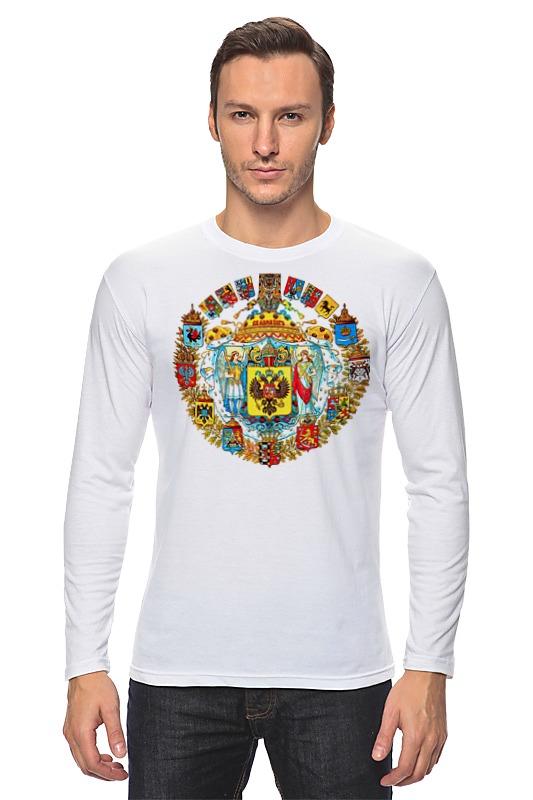 Лонгслив Printio Герб плакетка герб прокуратуры рф
