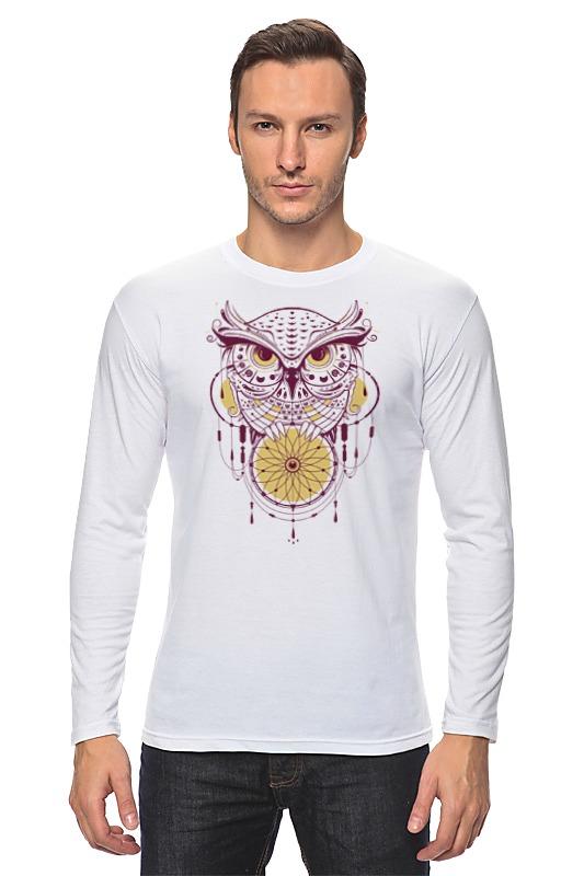 Printio Геометрическая сова лонгслив printio левитирующая сова