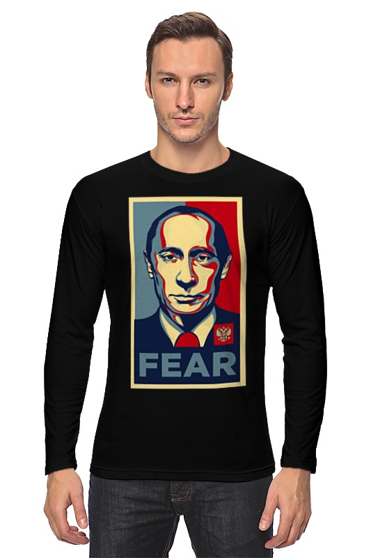 Лонгслив Printio Путин книги эксмо железный путин взгляд с запада