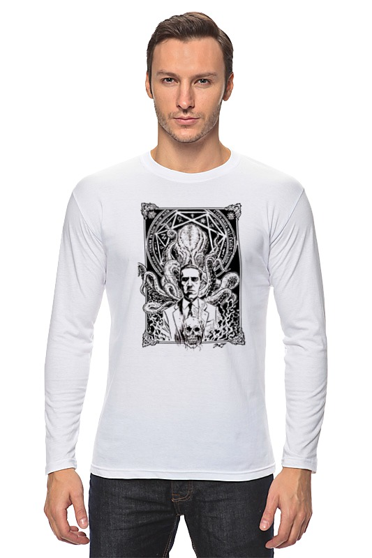 Лонгслив Printio Howard lovecraft t-shirt freeshipping new skiip83ac12it46 skiip 83ac12it46 igbt power module