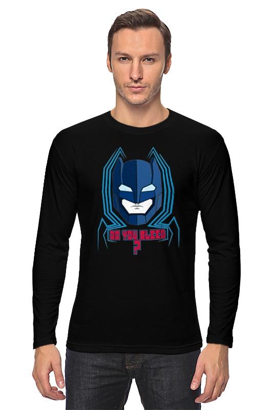 Лонгслив Printio Бэтмен против супермена бэтмен прот супермена на заре справ blu ray 3d