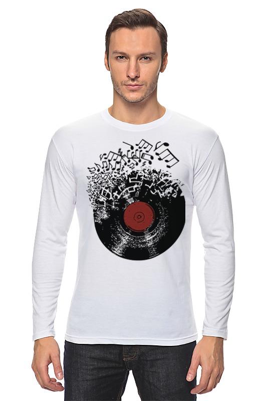 Лонгслив Printio Виниловая пластинка виниловая пластинка сборник streichquintett c dur lp