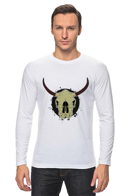 Лонгслив Printio Skull bull худи print bar skull