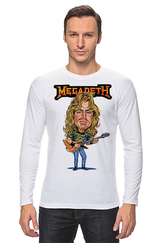 Лонгслив Printio Megadeth megadeth