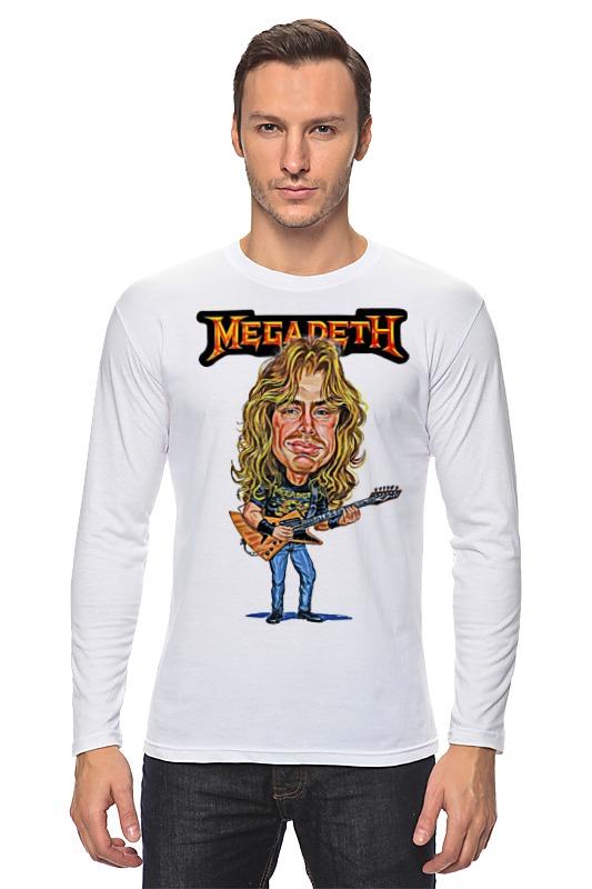 Лонгслив Printio Megadeth цены онлайн