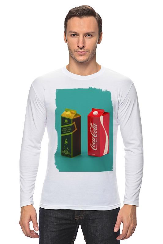 Лонгслив Printio Whisky cola футболка wearcraft premium printio whisky cola