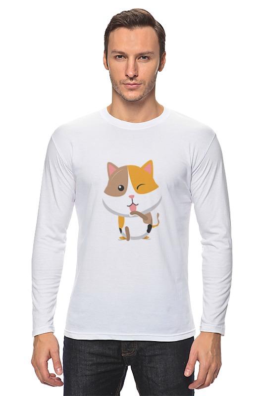 Лонгслив Printio Котёнок погремушка котёнок