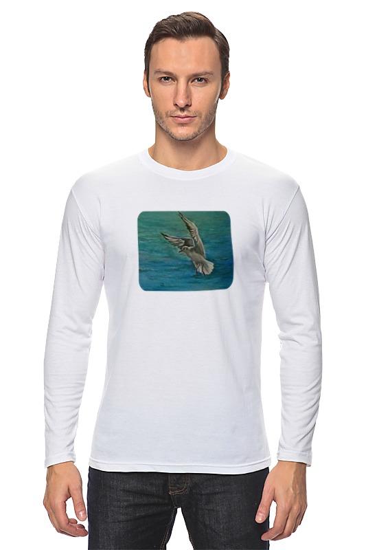 Лонгслив Printio Чайка 海鸥 seagull чайка