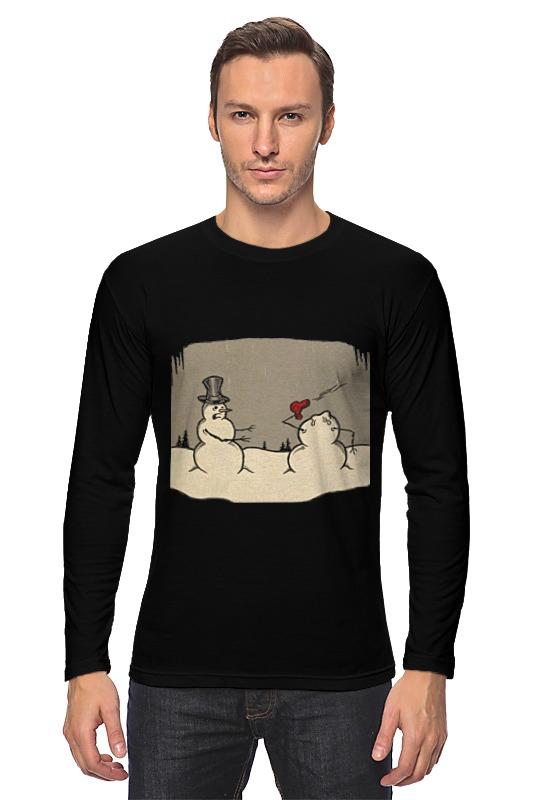 Лонгслив Printio Снеговики кружка printio снеговики