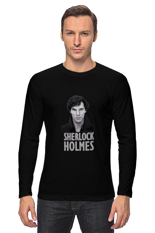 Лонгслив Printio Sherlock holmes