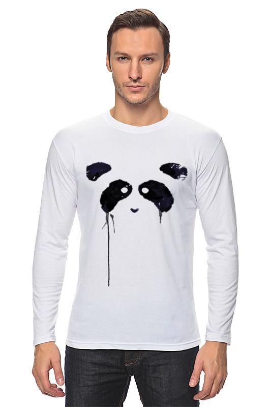 Лонгслив Printio Panda лонгслив серый grey fresh collection organic panda 44