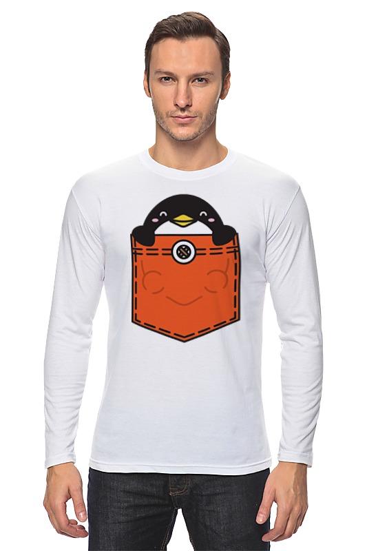 Лонгслив Printio Пингвин пингвин m030