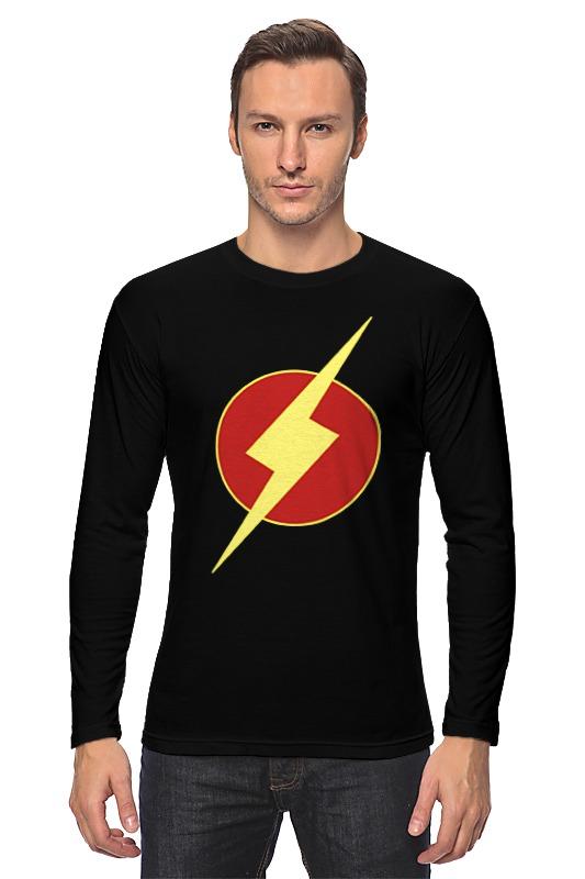 Лонгслив Printio Молния (the flash) лонгслив printio the flash