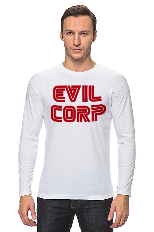 Лонгслив Printio Evil corp designs corp