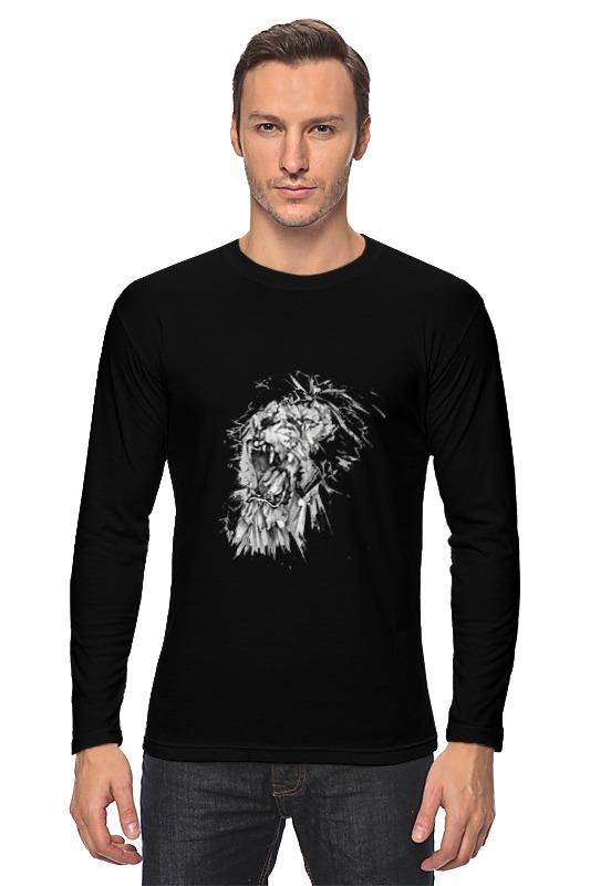 Лонгслив Printio Growl lion худи print bar skull lion