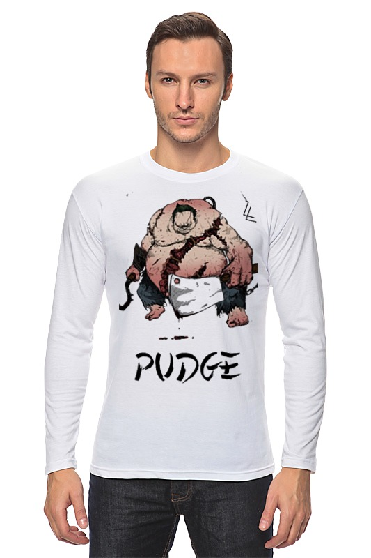 Лонгслив Printio Dota 2 pudge samurai детская футболка классическая унисекс printio dota 2 pudge samurai