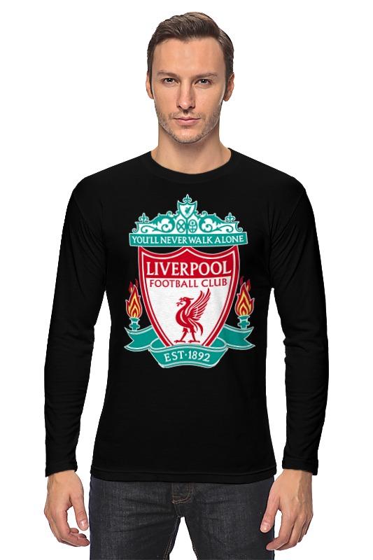 Лонгслив Printio Liverpool (ливерпуль) ливерпуль хаддерсфилд таун
