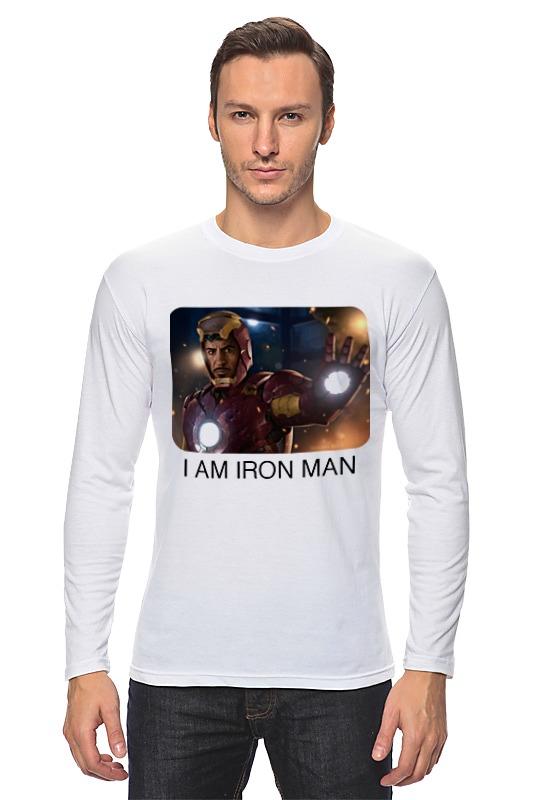Лонгслив Printio Железный человек железный человек 2