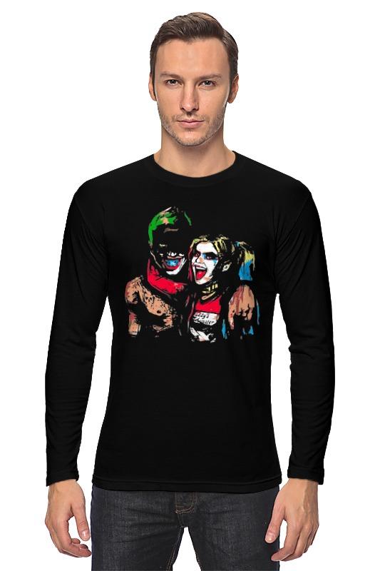 Лонгслив Printio Джокер и харли квинн (бэтмен) лонгслив printio джокер бэтмен