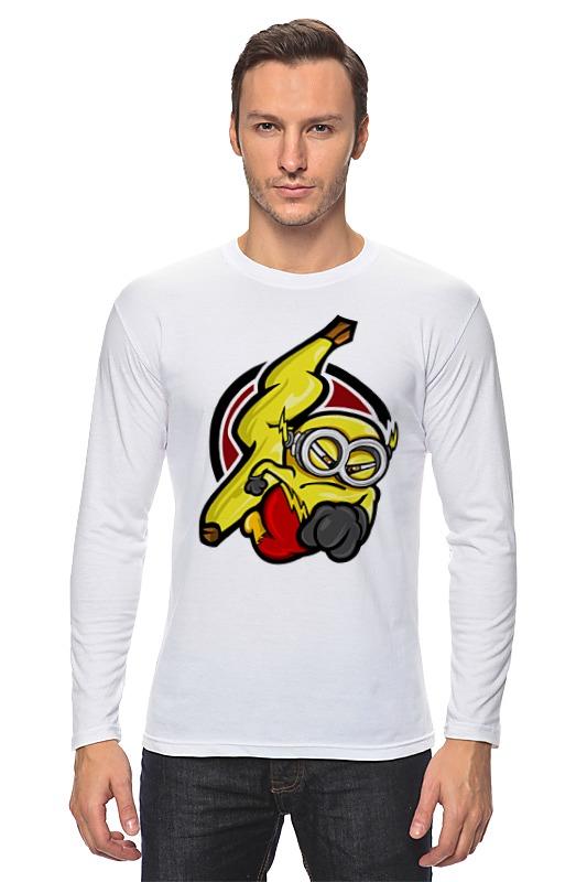 Лонгслив Printio Banana flash цена
