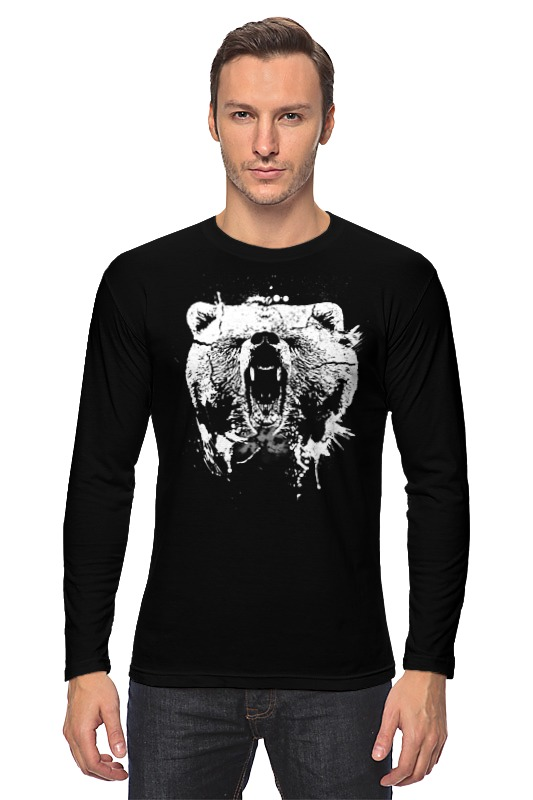 Printio Медвежий оскал лонгслив printio оскал тигра