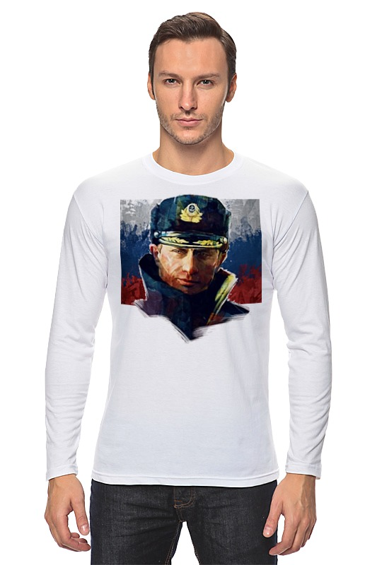 Лонгслив Printio Putin