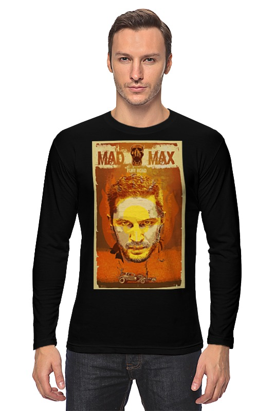 Лонгслив Printio Mad max fury road лонгслив printio mad max fury road