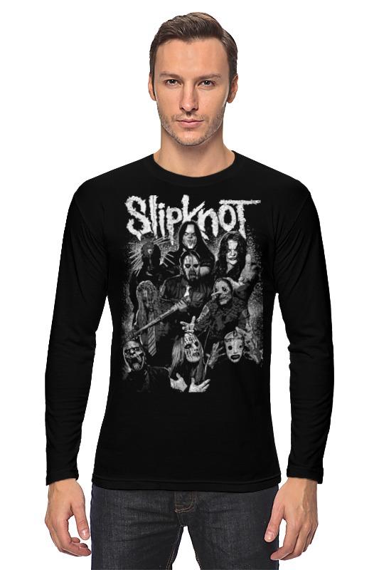 Лонгслив Printio Slipknot slipknot slipknot 5 the gray chapter
