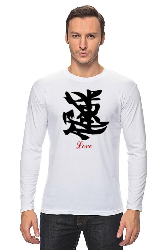Лонгслив Printio Love (любовь) лонгслив printio love for orlando