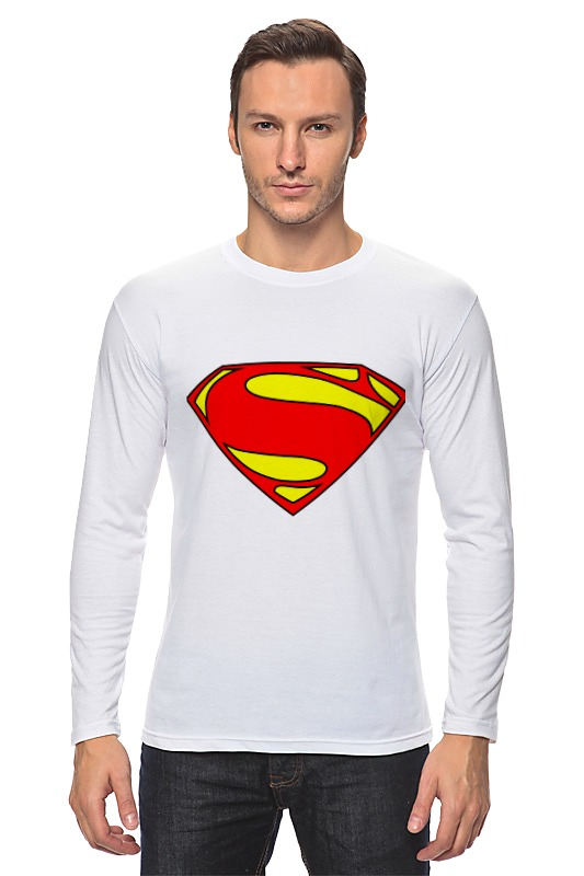 Лонгслив Printio Superman superman
