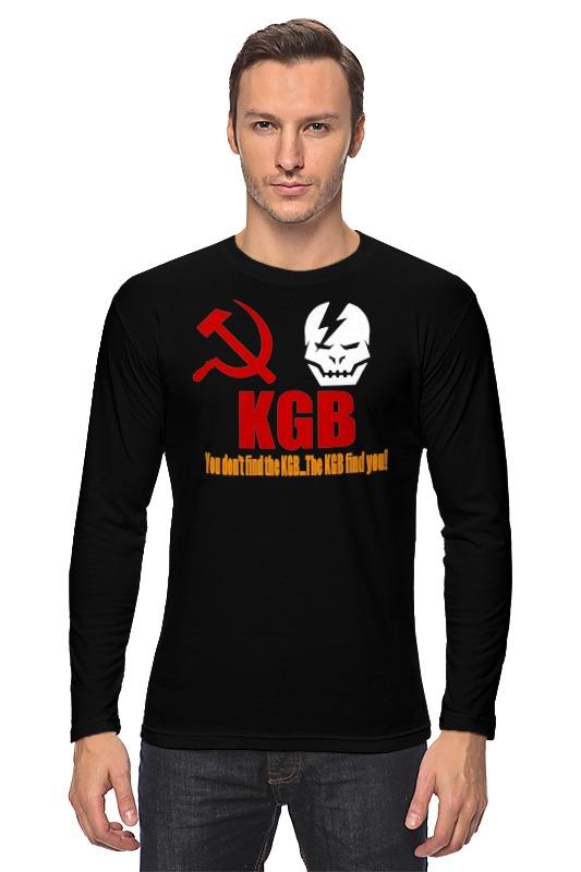 купить Лонгслив Printio Kgb russia по цене 1248 рублей