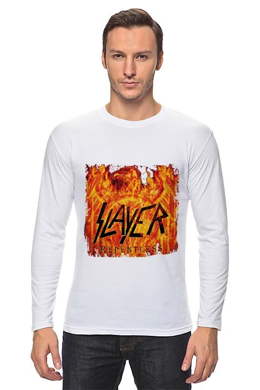 Лонгслив Printio Slayer repentless 2015 2015 saat