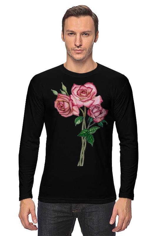 Лонгслив Printio Розы розы