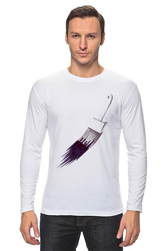 Лонгслив Printio Маляр или первый мазок футболка для беременных printio маляр или первый мазок