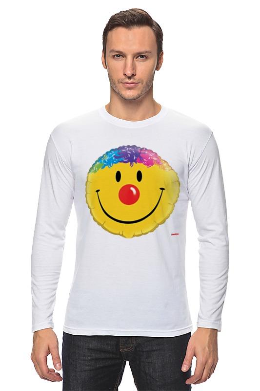 Лонгслив Printio Колобок улыбающийся. смех радость. smile чешский смех