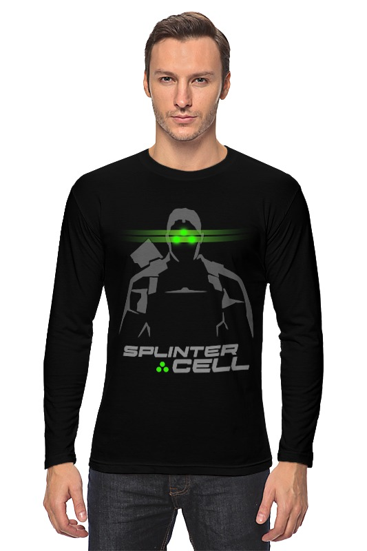 Лонгслив Printio Splinter cell basal cell carcinoma