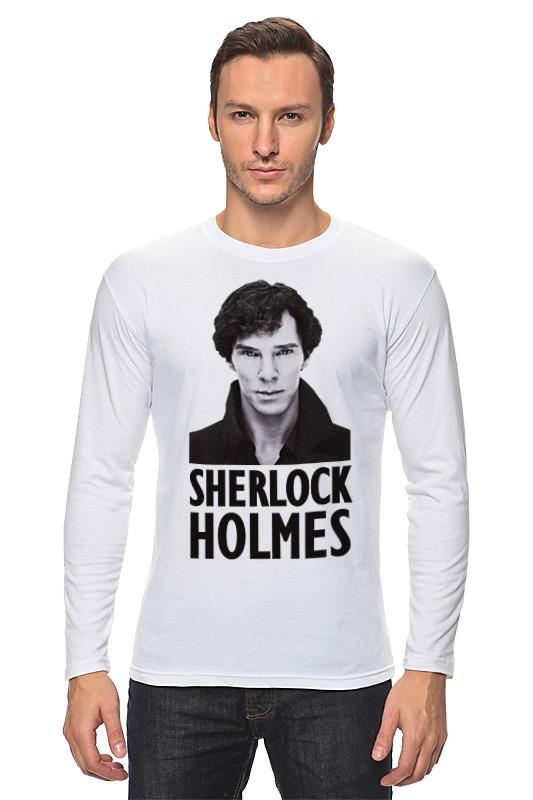 Лонгслив Printio Sherlock holmes дойл а приключения шерлока холмса the adventures of sherlock holmes
