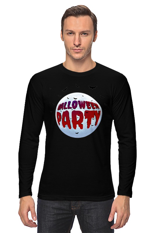 Printio Хэллоуин вечеринка лонгслив printio хэллоуин