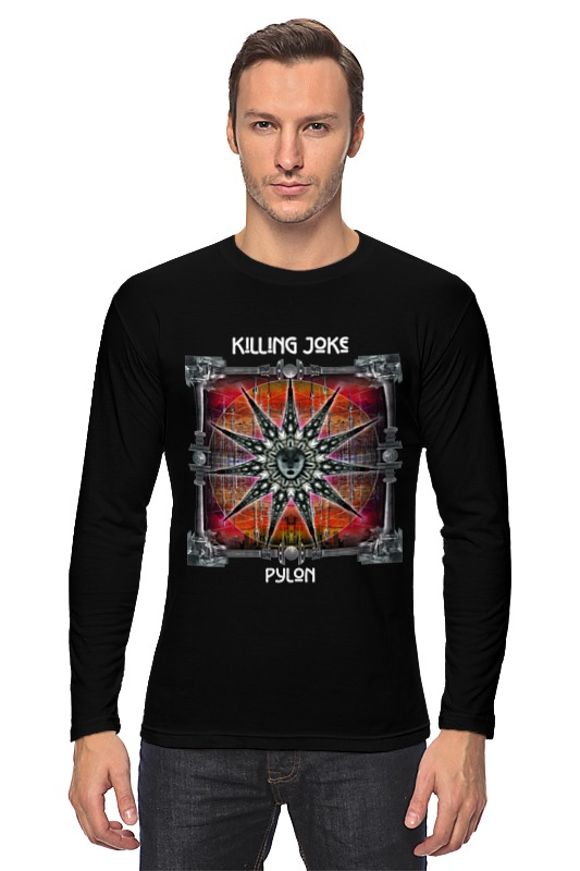 Лонгслив Printio Killing joke / pylon kind worth killing