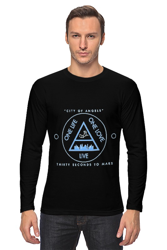 Лонгслив Printio City of angels - 30 seconds to mars детские штаны city of angels and children s clothes 1501 28 2015