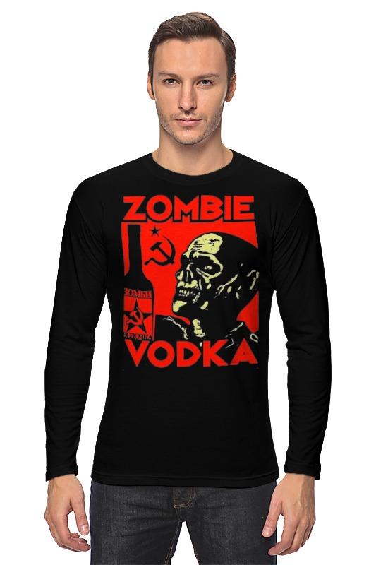 Лонгслив Printio Zombie vodka лонгслив printio how to kill a zombie