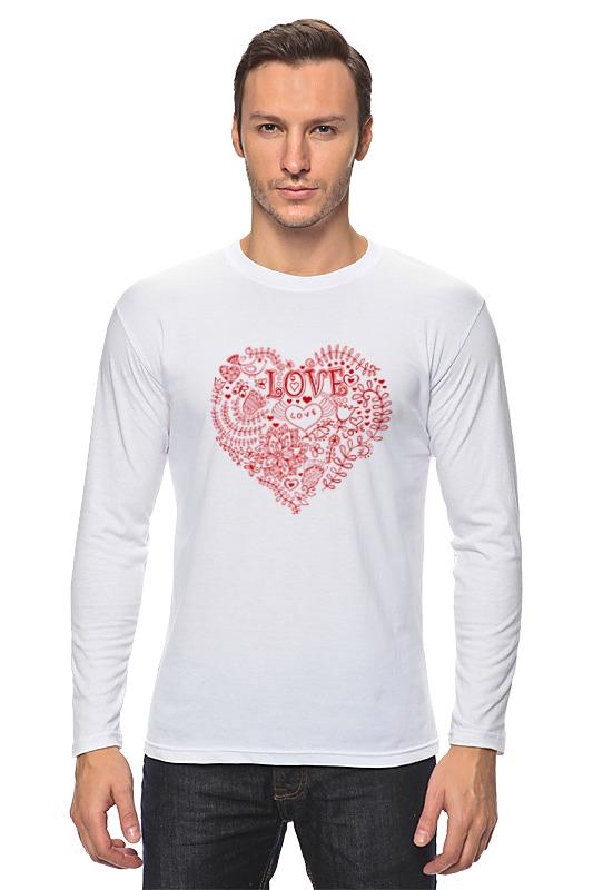 Лонгслив Printio Love - 2 лонгслив printio 62 2% в саратове