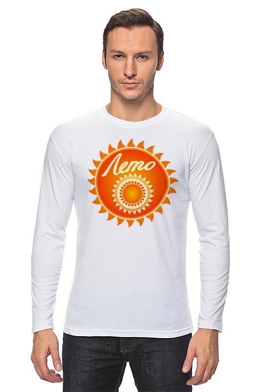 Лонгслив Printio Солнце лонгслив printio оранжевое солнце